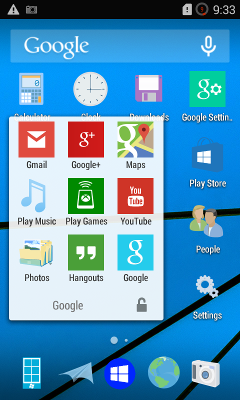 Download Windows 10 CM11 Theme APK – Download Crow